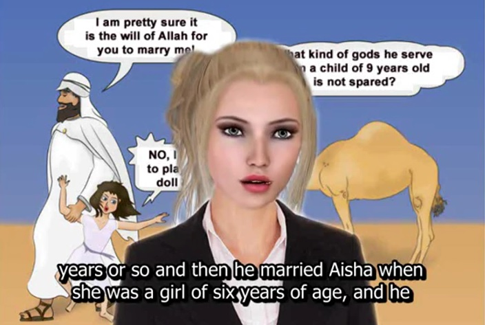 Image result for Muhammad fondle Aisha